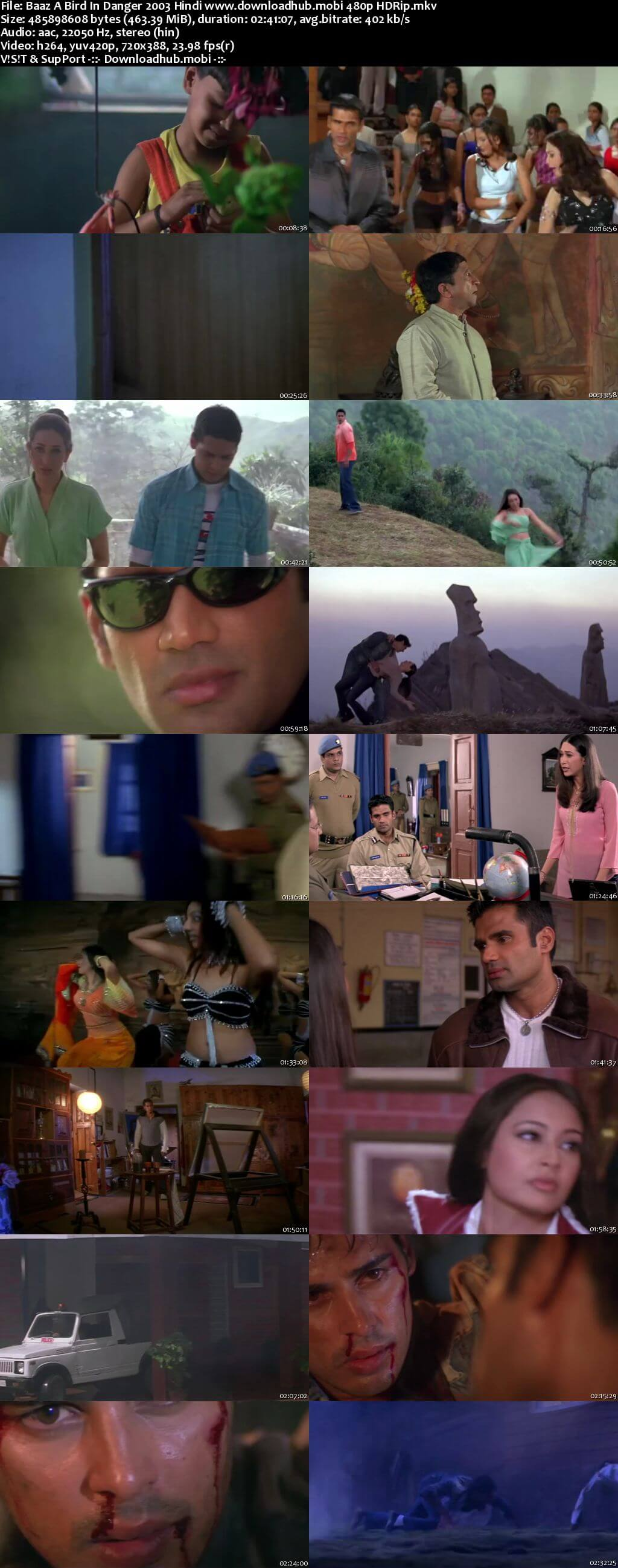 Baaz A Bird in Danger 2003 Hindi 450MB HDRip 480p