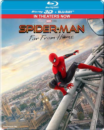 Spider-man Far From Home 2019 English 720p BRRip 950MB ESubs