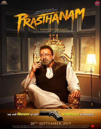 Prassthanam 2019 Hindi 700MB HDRip 720p ESubs HEVC