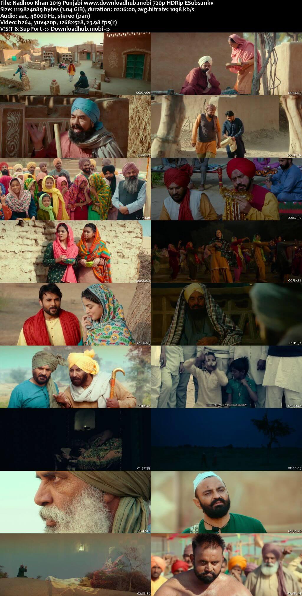 Nadhoo Khan 2019 Punjabi 720p HDRip ESubs