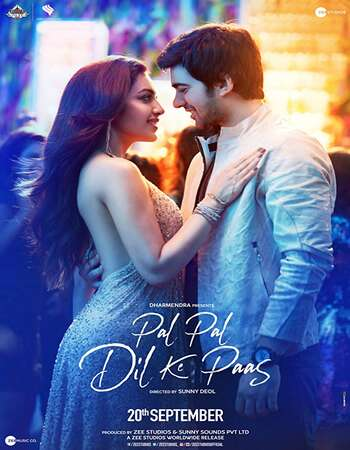Pal Pal Dil Ke Paas 2019 Hindi 700MB HDRip 720p ESubs HEVC