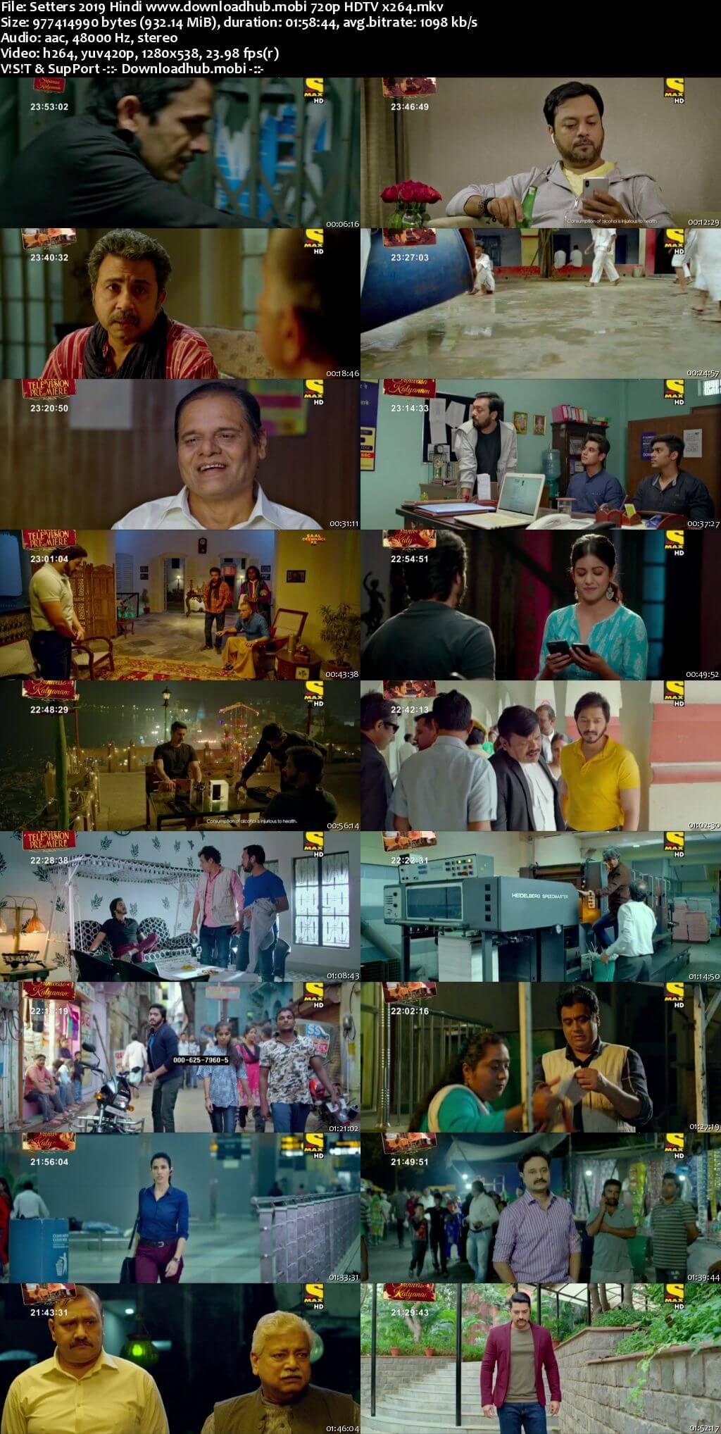 Setters 2019 Hindi 720p HDTV x264