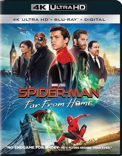 Spider-Man Far from Home 2019 Dual Audio Original Hindi BluRay 1080p Download