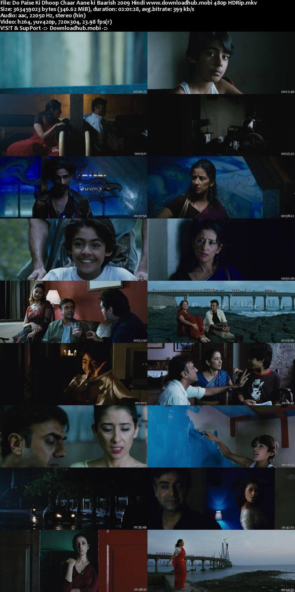 Do Paise Ki Dhoop Chaar Aane Ki Baarish 2009 Hindi 350MB HDRip 480p