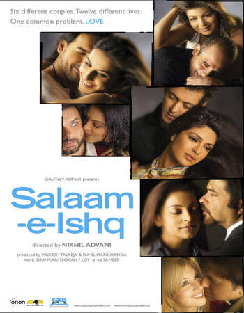 Salaam-E-Ishq 2007 Hindi 600MB HDRip 480p