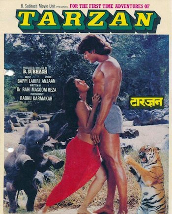 Adventures of Tarzan 1985 Hindi 720p HDRip x264