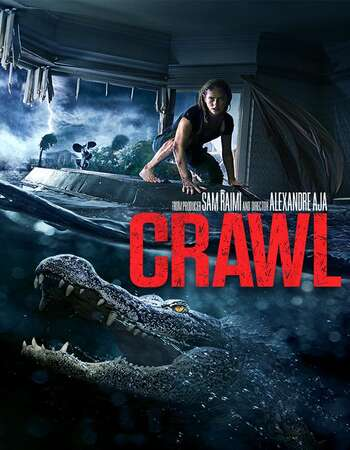 Crawl 2019 Hindi Dual Audio 450MB Web-DL 720p HEVC