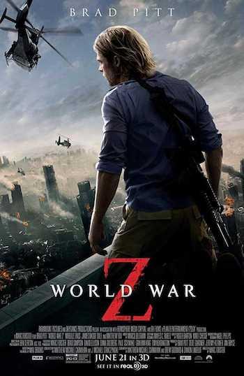 World War Z 2013 Dual Audio Hindi English BRRip 480p Movie Download