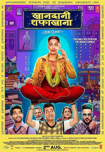 Khandani Shafakhana 2019 Hindi 720p WEB-DL 1GB