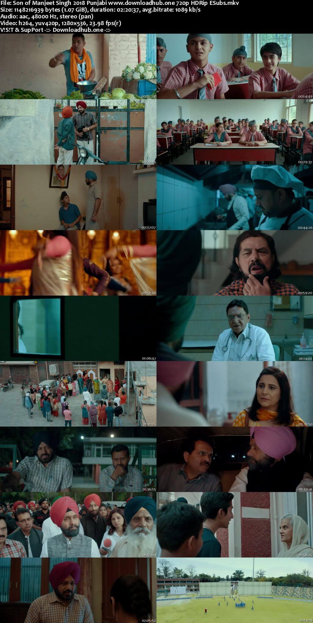 Son of Manjeet Singh 2018 Punjabi 720p HDRip ESubs