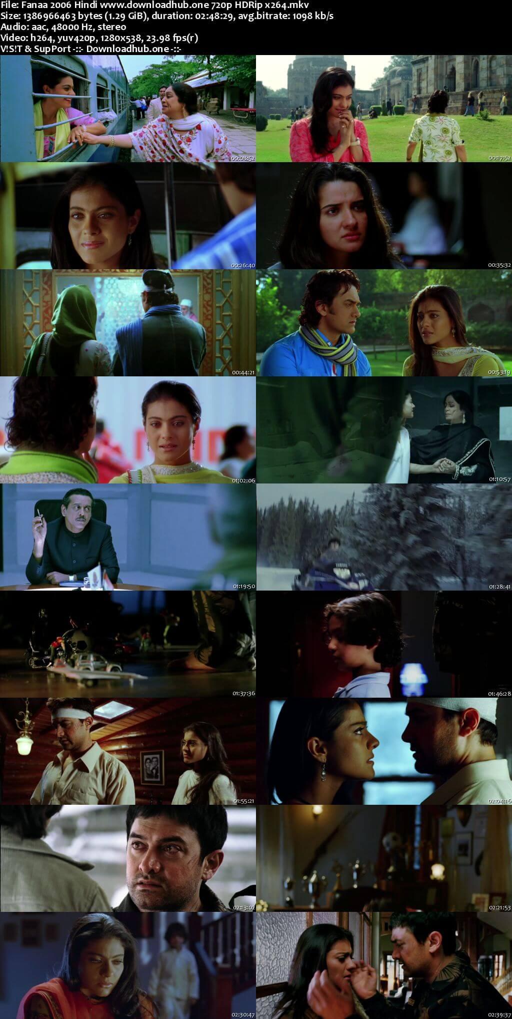 Fanaa 2006 Hindi 720p HDRip x264