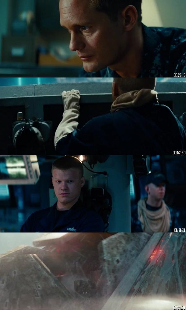 Battleship 2012 BRRip 720p 480p Dual Audio Hindi English Full Movie Download