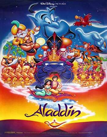 Aladdin 1992 Hindi Dual Audio BRRip Full Movie 720p Download