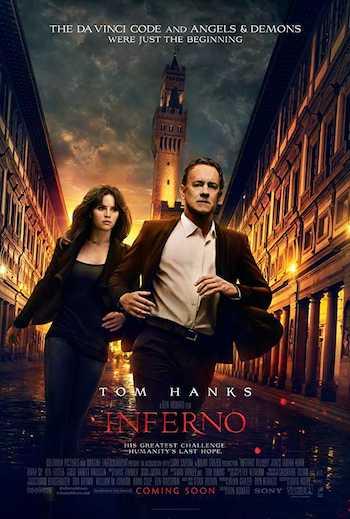 Inferno 2016 Dual Audio Hindi English BRRip 720p Movie Download