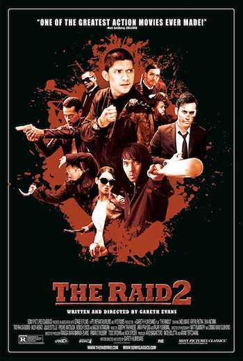The Raid 2 2014 Dual Audio Hindi English BRRip 480p Movie Download