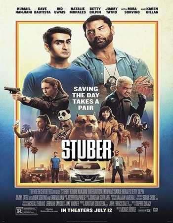 Stuber 2019 Hindi ORG Dual Audio 300MB BluRay 480p ESubs