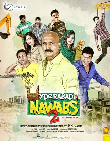 Hyderabad Nawabs 2 2019 Hindi 720p HDRip ESubs