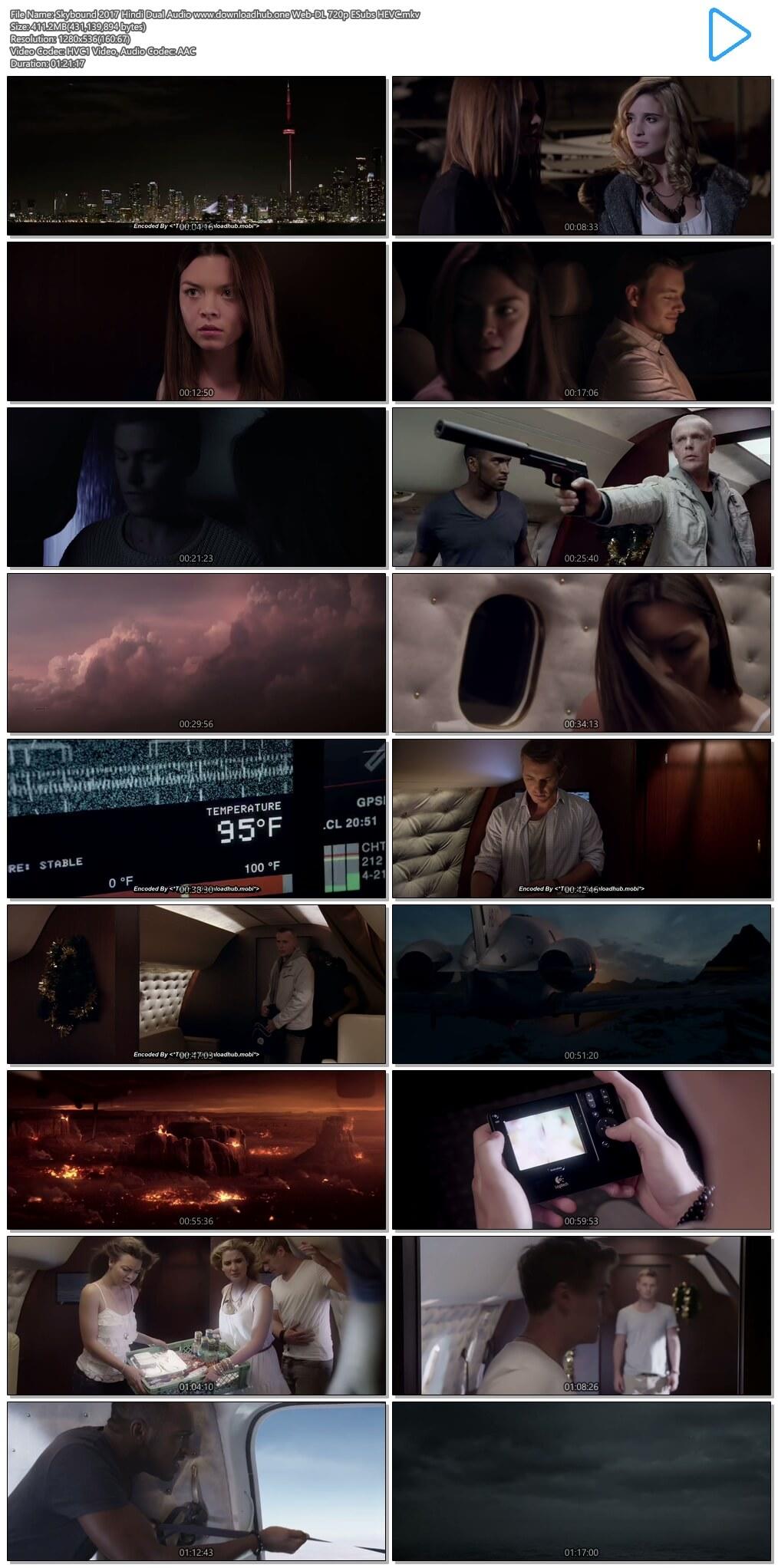 Skybound 2017 Hindi Dual Audio 400MB Web-DL 720p ESubs HEVC