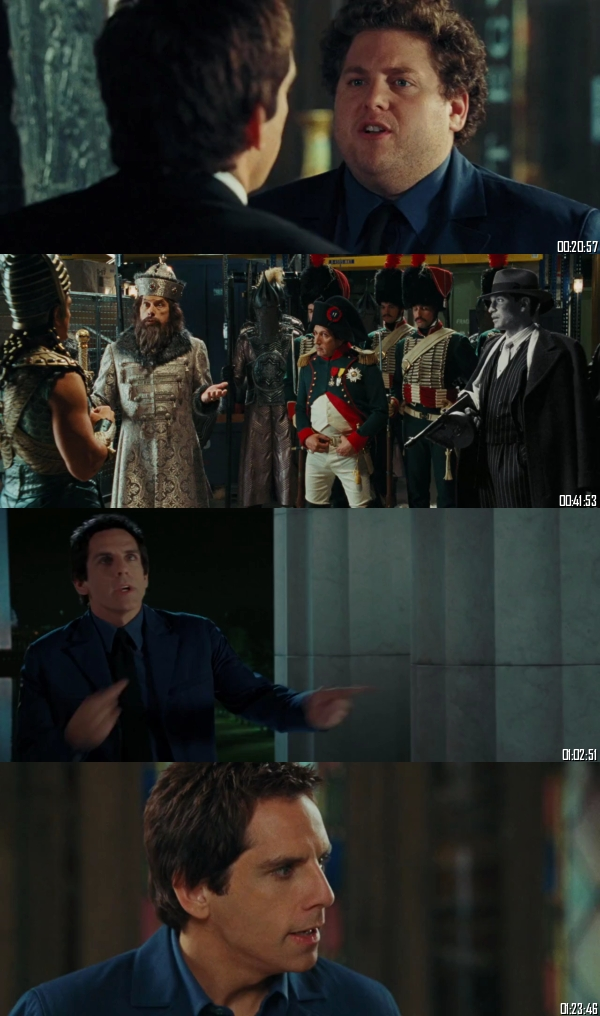 Night At The Museum Battle Of The Smithsonian 2009 BRRip 720p 480p Dual Audio Hindi English Full Movie Download