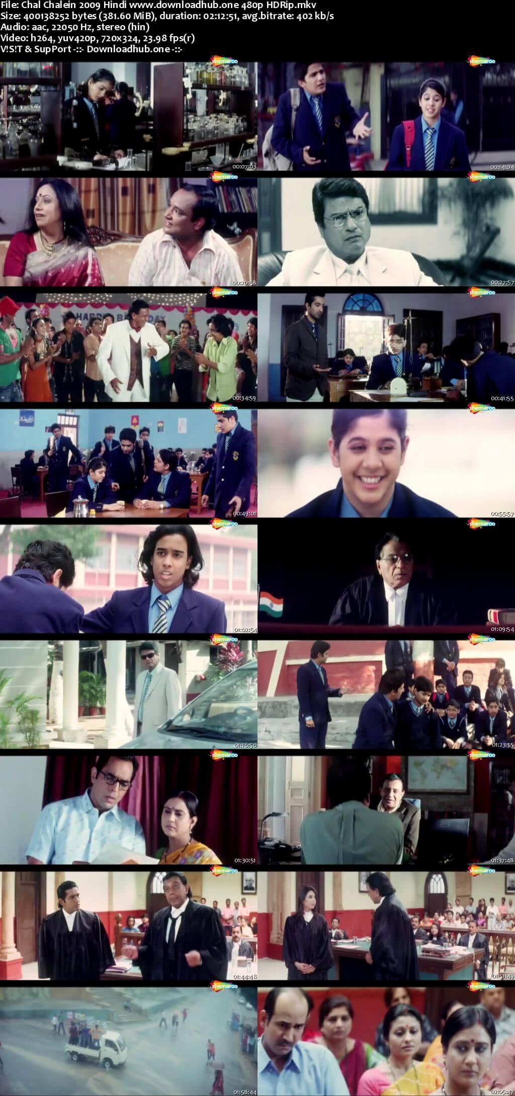 Chal Chalein 2009 Hindi 350MB HDRip 480p