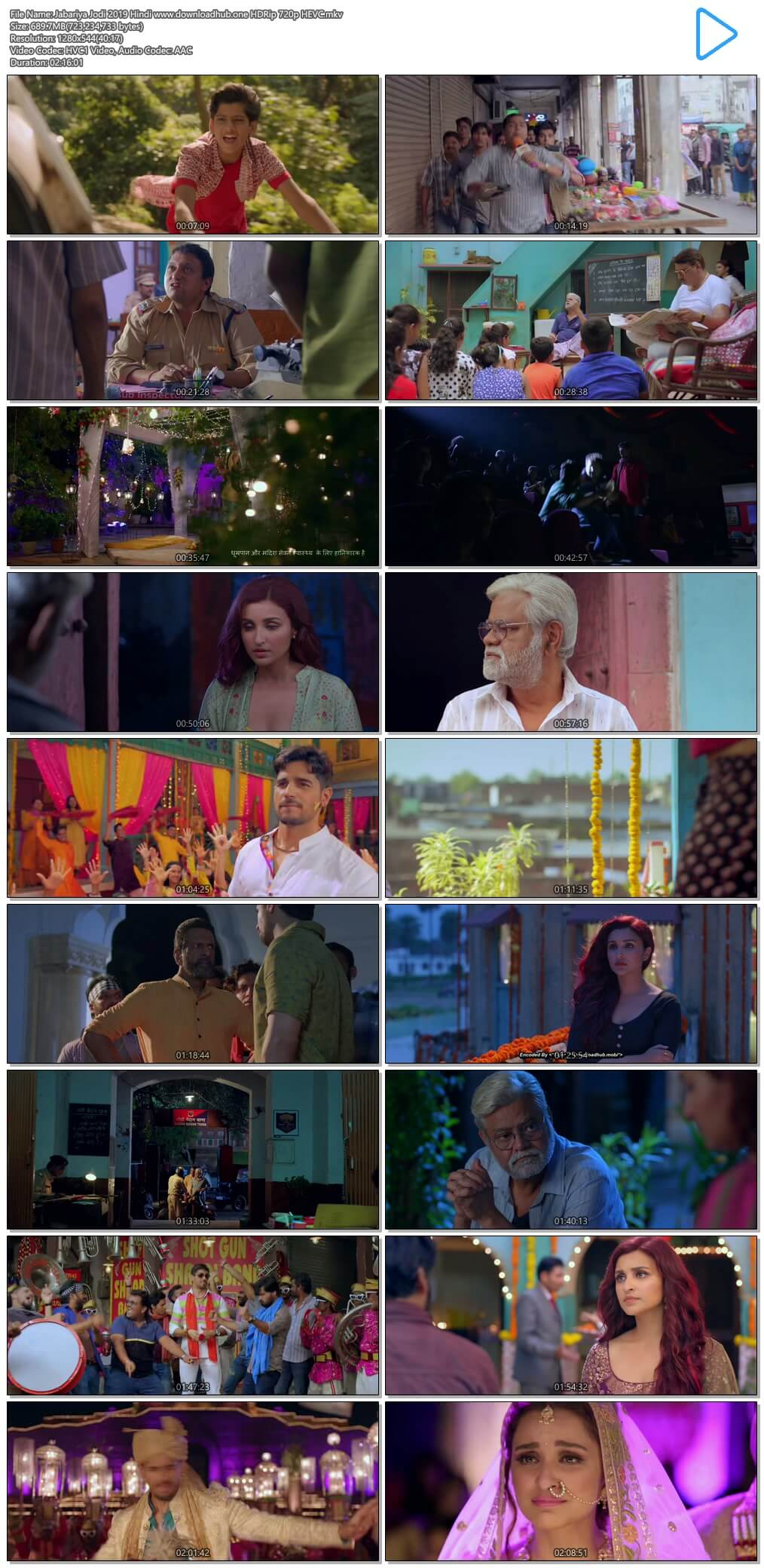 Jabariya Jodi 2019 Hindi 650MB HDRip 720p HEVC