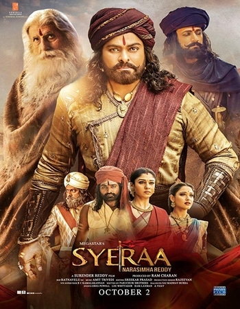 Sye Raa Narasimha Reddy 2019 Hindi (Cleaned) Dual Audio 500MB UNCUT HDRip 480p ESubs