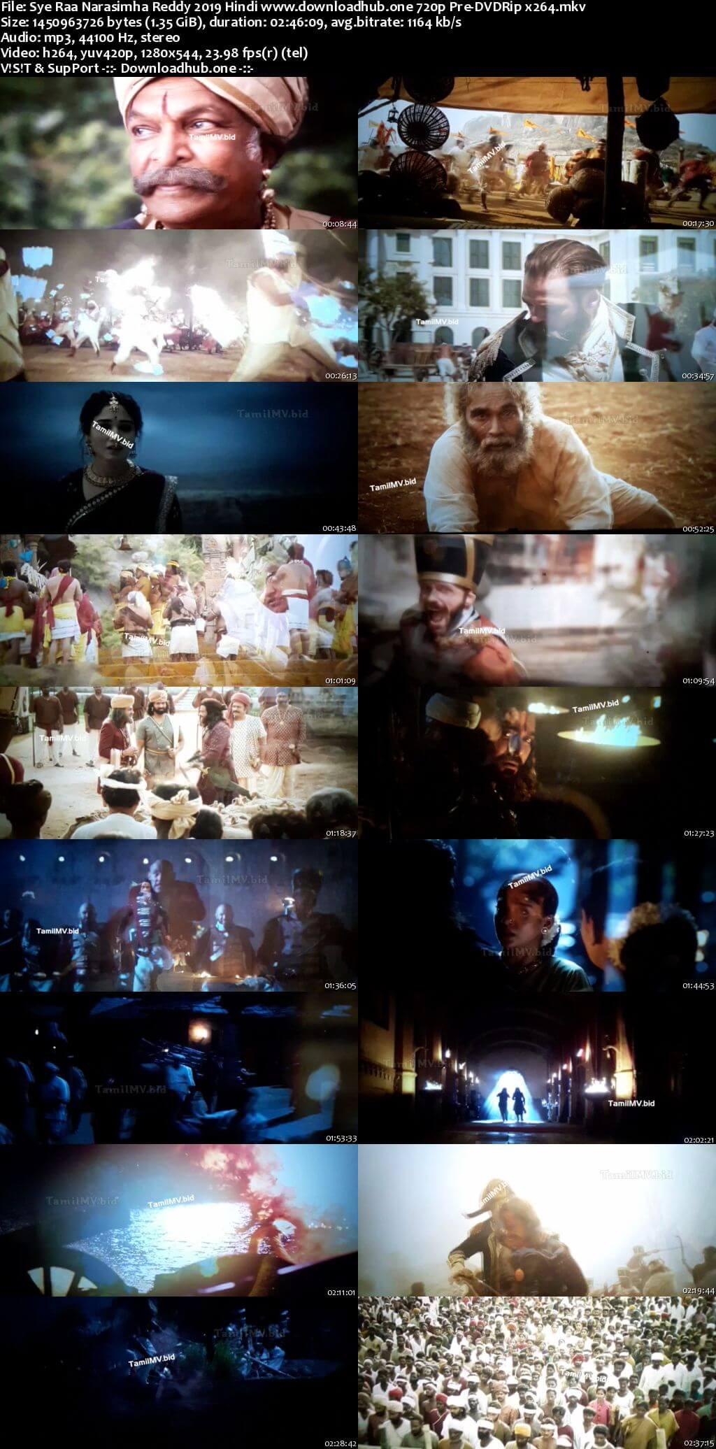 Sye Raa Narasimha Reddy 2019 Hindi 720p Pre-DVDRip x264
