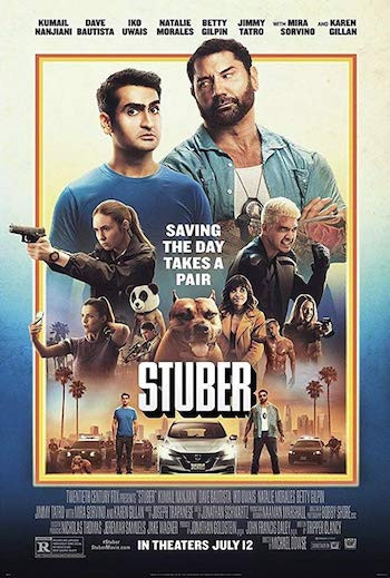 Stuber 2019 English 720p WEB-DL 800MB ESubs