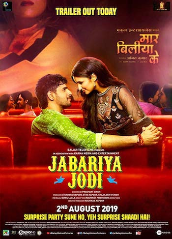 Jabariya Jodi 2019 Hindi 720p WEB-DL 1GB