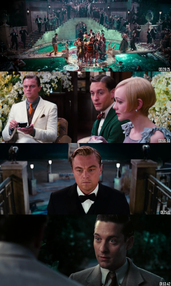 The Great Gatsby 2013 BluRay 720p 480p Dual Audio Hindi English Full Movie Download