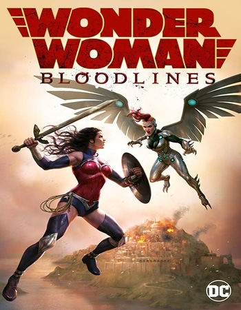 Wonder Woman Bloodlines 2019 English 720p Web-DL 700MB ESubs