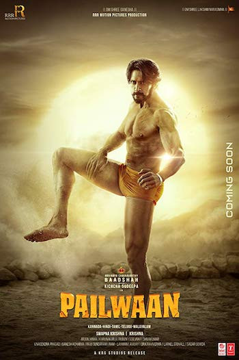 Pailwaan 2019 UNUCT Dual Audio Hindi Kannada 480p HDRip 500MB