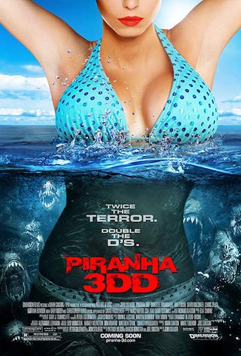 Piranha 3DD 2012 Hindi Dual Audio 250MB UNRATED BluRay 480p ESubs