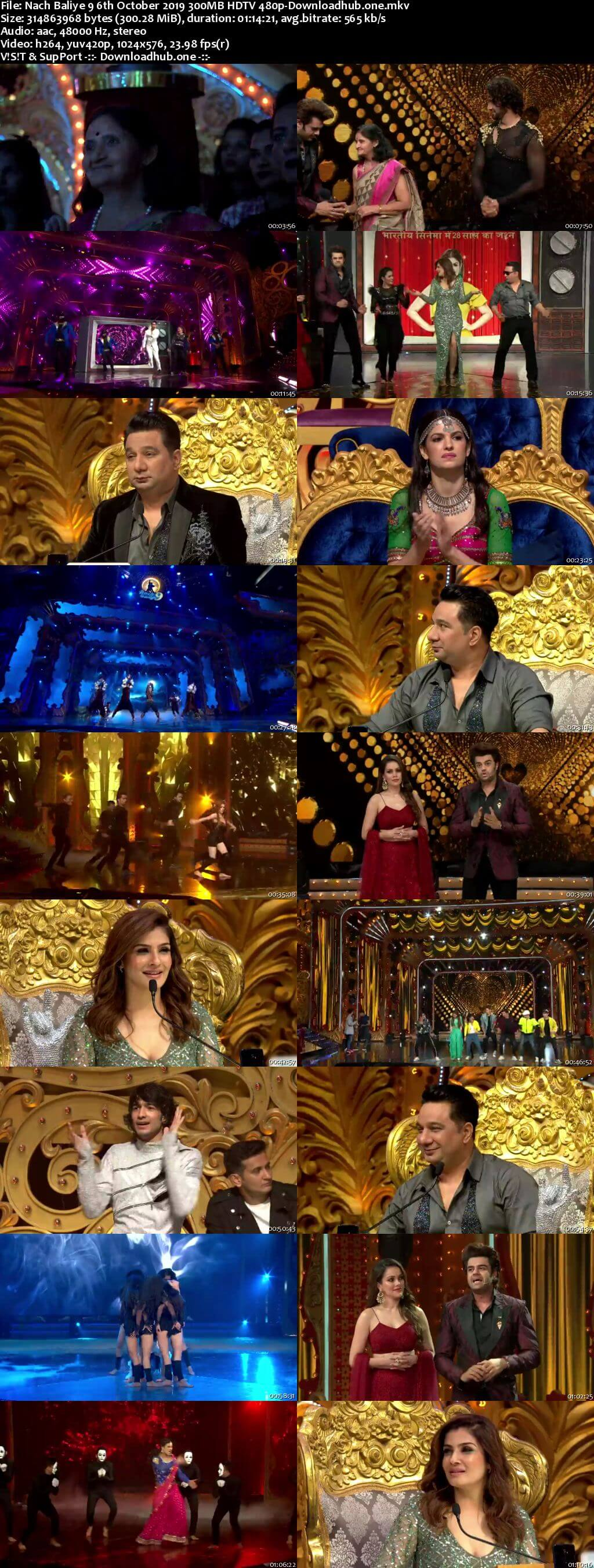 Nach Baliye 9 06 October 2019 Episode 25 HDTV 480p