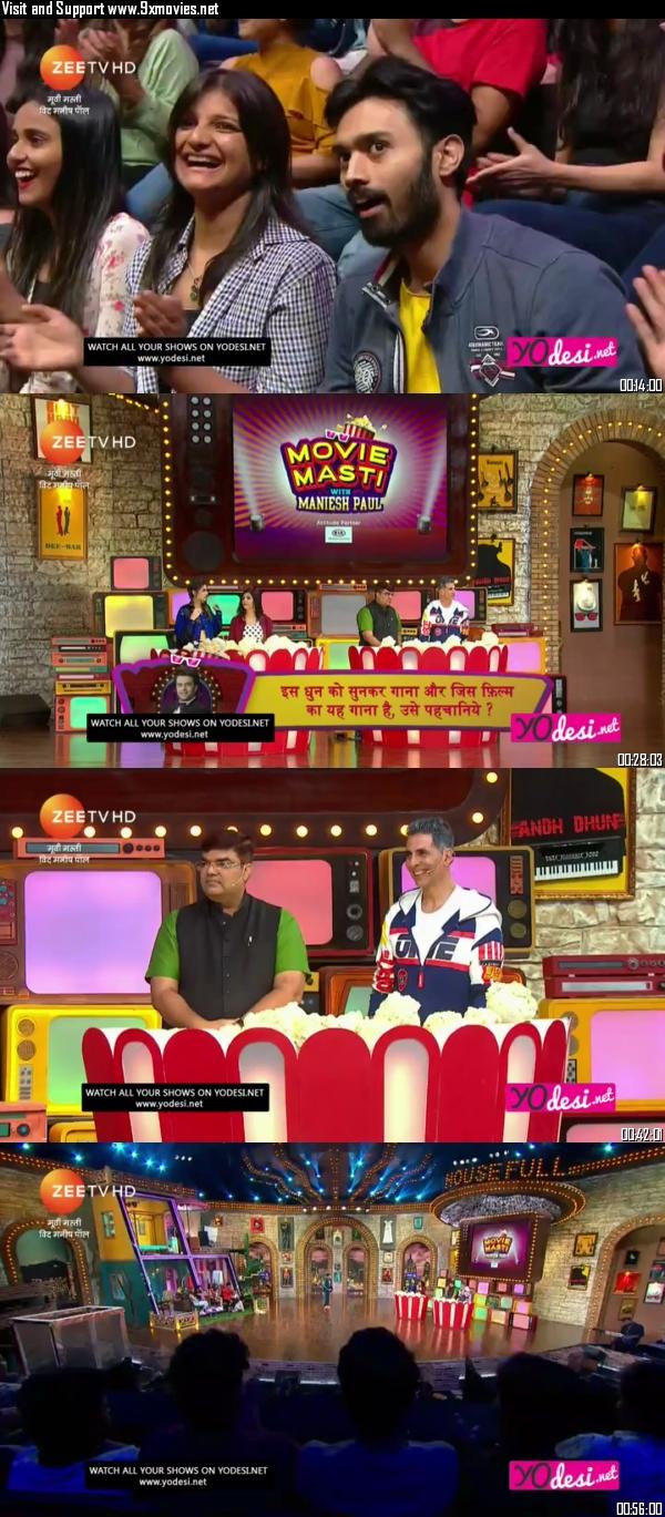 Movie Masti With Manish Paul 05 October 2019 HDTV 480p 300MB