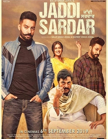 Jaddi Sardar 2019 Full Punjabi Movie 720p HEVC Download