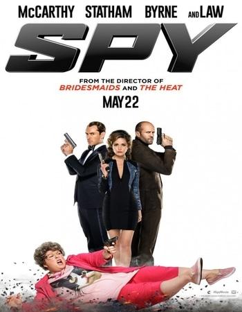 Spy 2015 Hindi Dual Audio BRRip Full Movie 480p Download