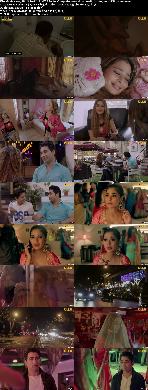 Ganika 2019 Hindi S01 ULLU WEB Series Complete 720p HDRip x264