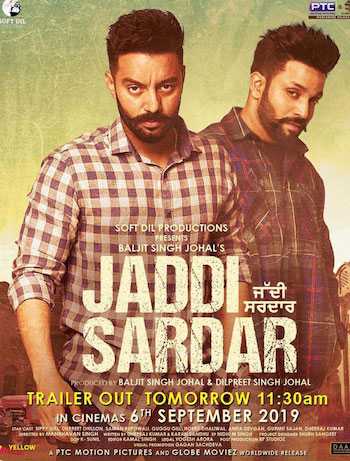 Jaddi Sardar 2019 Punjabi Movie Download