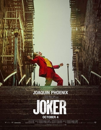Joker 2019 English 300MB HC HDRip 480p