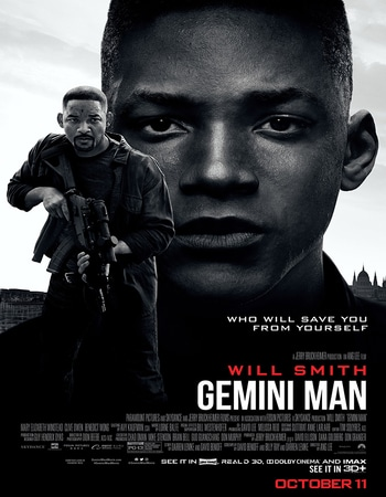 Gemini Man 2019 Hindi Dual Audio 350MB HC HDRip 480p