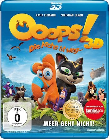 Ooops! Noah Is Gone 2015 Dual Audio Hindi 720p BluRay 900mb