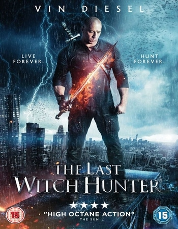 The Last Witch Hunter 2015 Hindi Dual Audio 550MB BluRay 720p ESubs HEVC