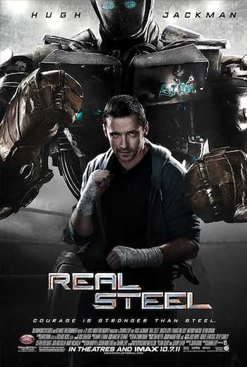 Real Steel 2011 Dual Audio Hindi English BRRip 720p 480p Movie Download