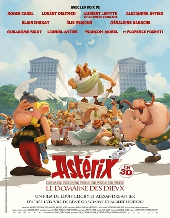 Asterix and Obelix Mansion of the Gods 2014 Hindi Dual Audio 280MB BluRay 480p ESubs