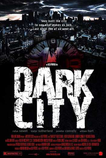 Dark City 1998 Dual Audio Hindi English BRRip 720p 480p Movie Download