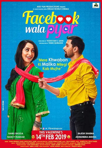 Facebook Wala Pyaar 2019 Hindi 300MB HDRip 480p ESubs