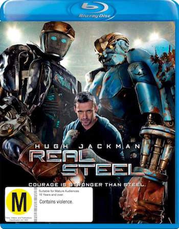 Real Steel 2011 Dual Audio Hindi Bluray Movie Download