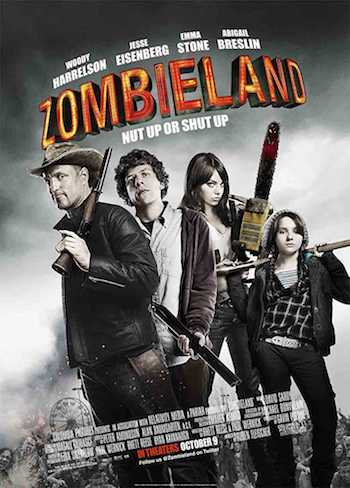 Zombieland 2009 Dual Audio Hindi English BRRip 720p 480p Movie Download