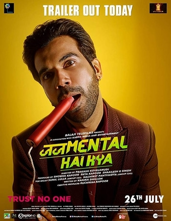 Judgementall Hai Kya 2019 Hindi 300MB HDRip 480p ESubs
